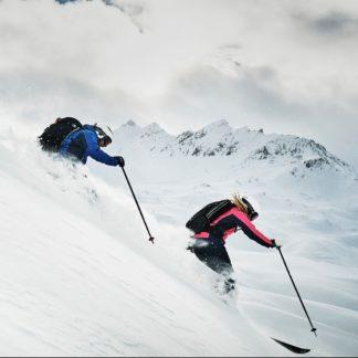 Ademende skijassen en skibroeken